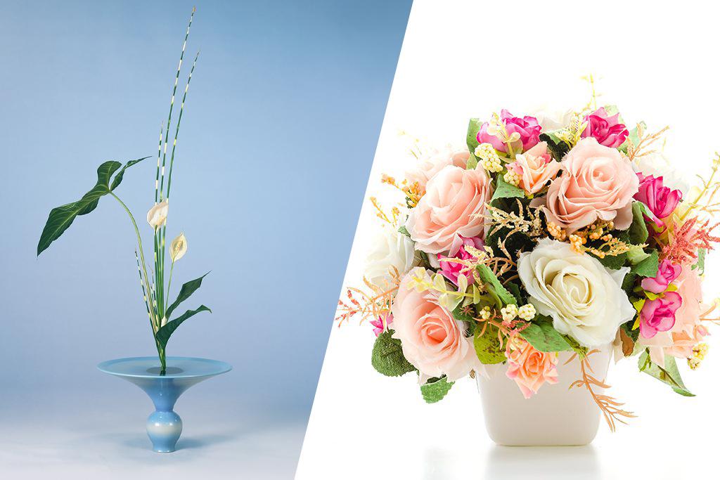 生け花とフラワーアレンジメントは違う?