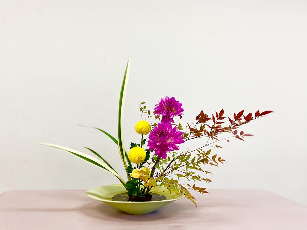 Q1.生け花体験は手ぶらで参加しても大丈夫?