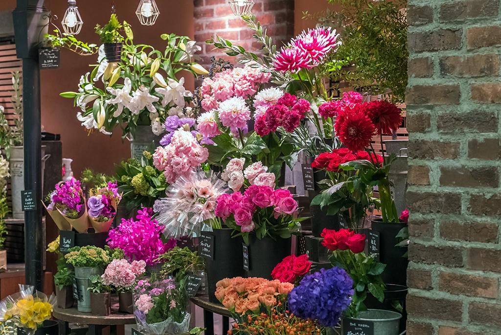 生け花で使う花はどこで買う?